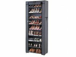 Schoenenrek - 27 paar schoenen - 58x160x28 cm - grijs