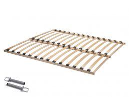 Lattenbodem - Flex Basic - 140x200 cm (2 x 70x200 cm) - beukenhout