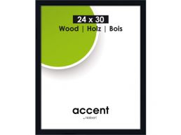 Nielsen - Accent Wood - fotokader - 24x30 cm - zwart