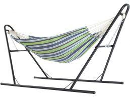 Hangmat - met standaard - 210x150 cm - multi kleuren