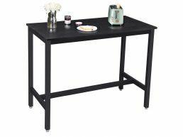 Middelhoge bartafel - 120x90x60 cm - zwart