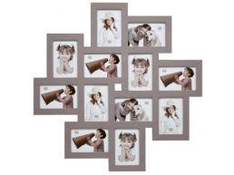 Deknudt - multifoto 12 foto's -10x15 cm - taupe