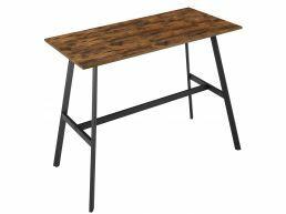 Middelhoge bartafel - industriële look - 120x91.5x60 cm - vintage bruin