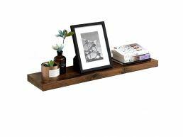 Tweedekans - Rustieke zwevende wandplank - 80x3.8x20 cm - vintage bruin