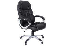 Luxe design manager bureaustoel - dikke bekleding - zwart