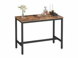 Tweedekans - Middelhoge bartafel - vintage - 120x90x60 cm - vintage bruin