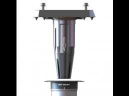 Gard & Rock - afstelbaar voetstuk - voor zweefparasol - zilvergrijs
