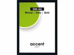 Nielsen - Accent Wood - fotokader - A4 - zwart
