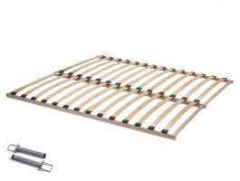 Lattenbodem - Flex Basic - 180x200 cm (2x 90x200 cm) - beukenhout