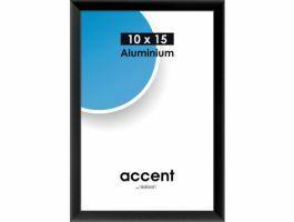 Nielsen - Accent - aluminium fotokader - 10x15 cm - zwart