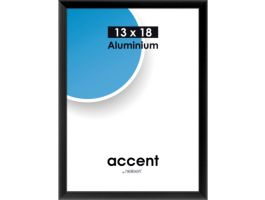Nielsen - Accent - aluminium fotokader - 13x18 cm - zwart