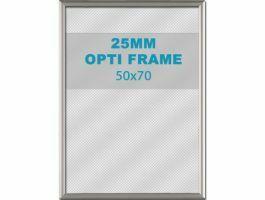 Klikkader Opti - 25 mm - 50x70 cm - grijs