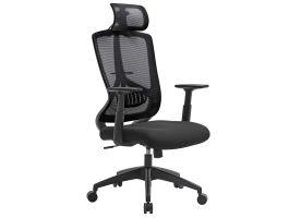 Ergonomische bureaustoel - comfortabel - zwart