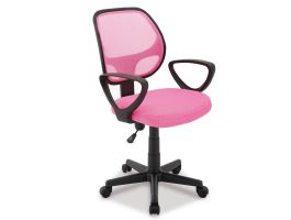 Bureaustoel roze