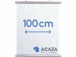Arti Teq - poster ophangsysteem - poster snap - 100 cm - zilver