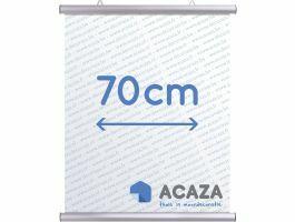 Arti Teq - poster ophangsysteem - poster snap - 70 cm - zilver
