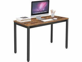 Bureau - tafel - vintage - zwart/bruin