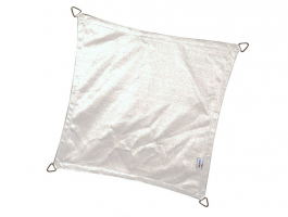 Coolfit - schaduwzeil - vierkant 3,6x3,6 m - sneeuwwit