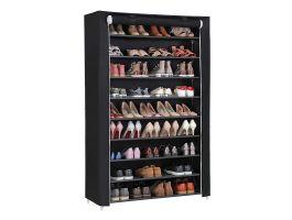 Schoenenrek - XXL - 54 paar schoenen - 100x162x28 cm - zwart