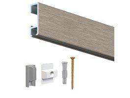 Artiteq - ophangrail - 150 cm - aluminium