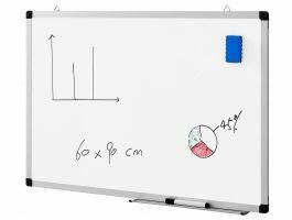 Magnetisch whiteboard - 60x90 cm - wit